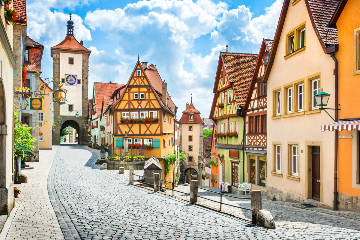 Bawaria - Rothenburg