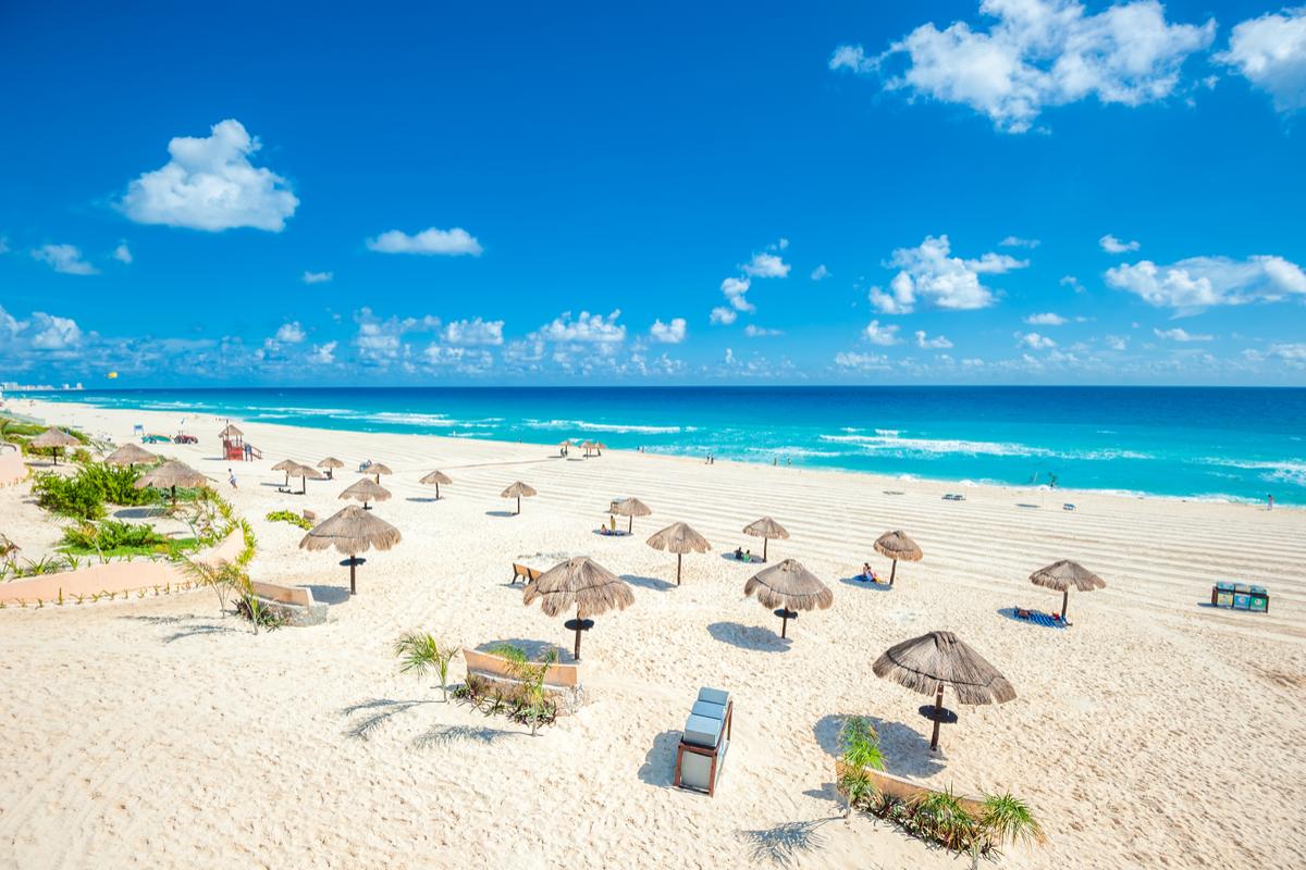 Plaża Cancun