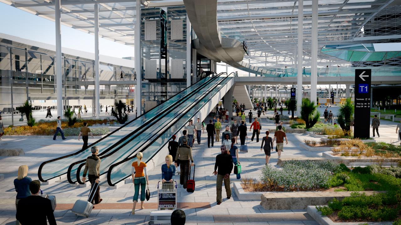 projekt rozbudowy lotniska
