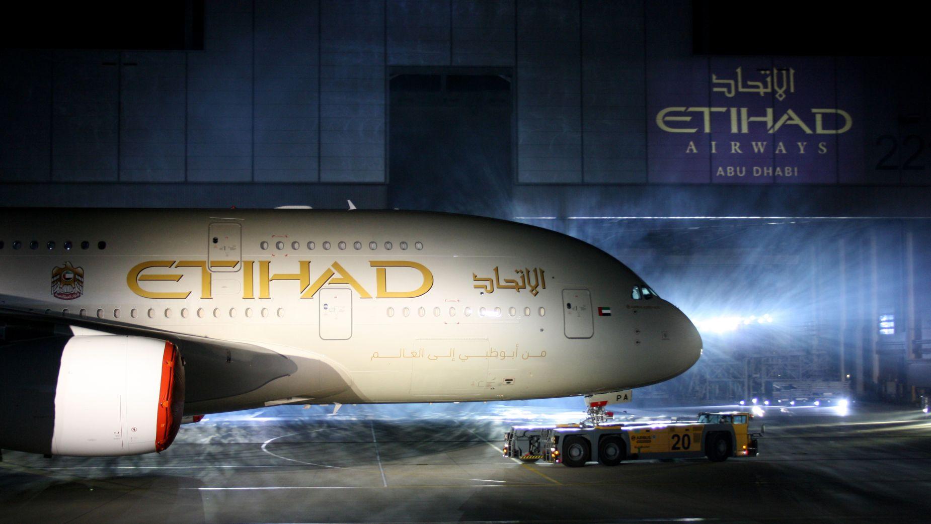 Samolot Etihad