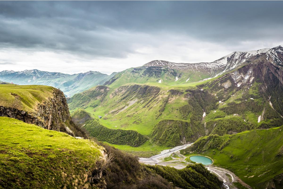 Gruzja Góry Kazbek