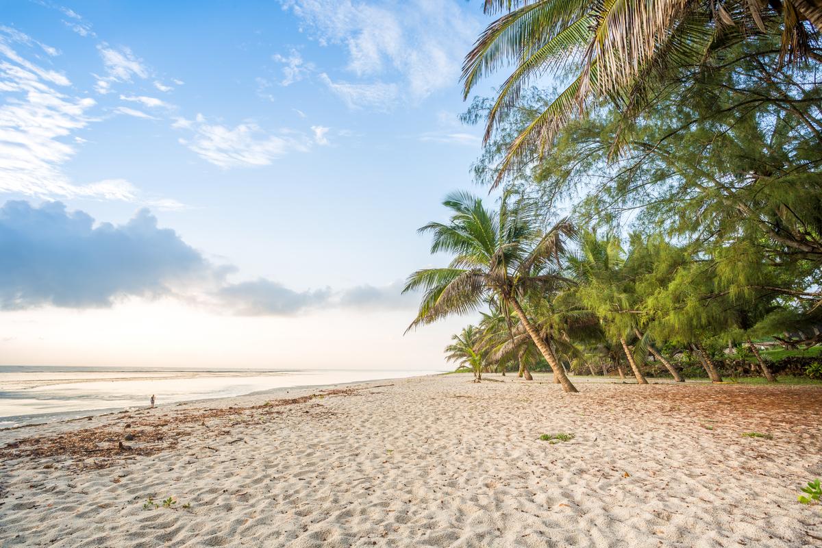 Kenia plaża
