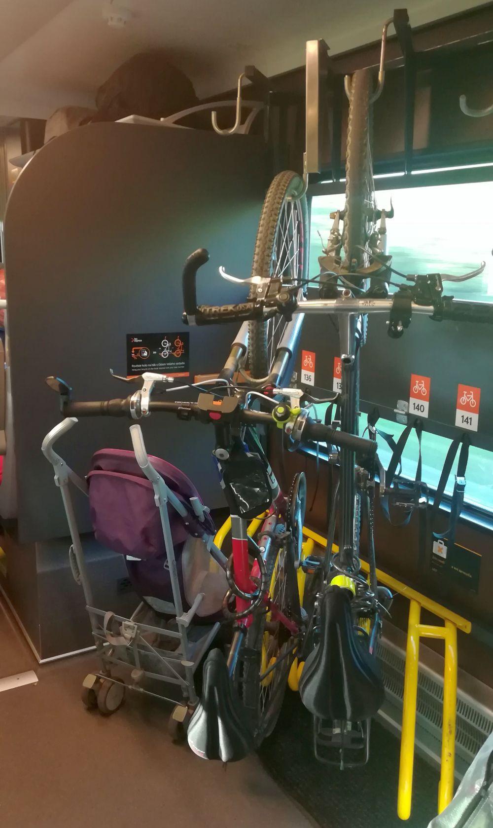Przewóz rowerów w Leo Express