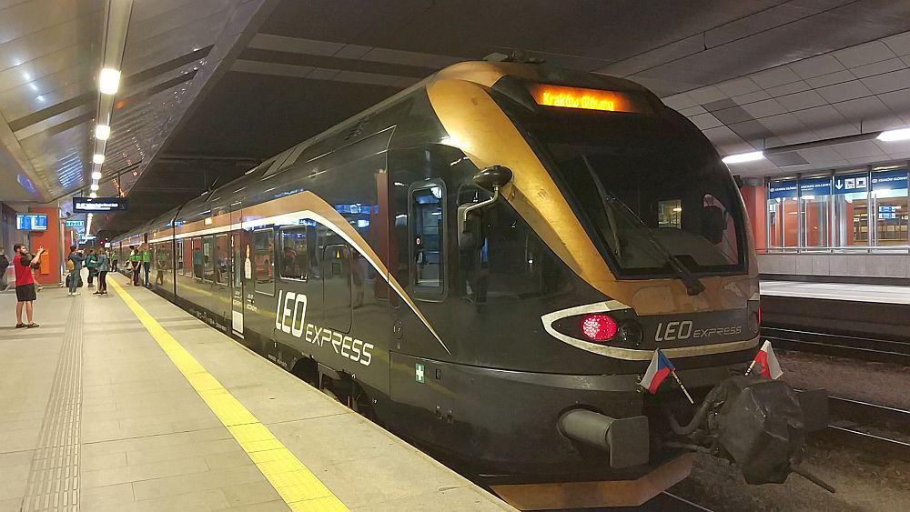 Leo Express w Krakowie