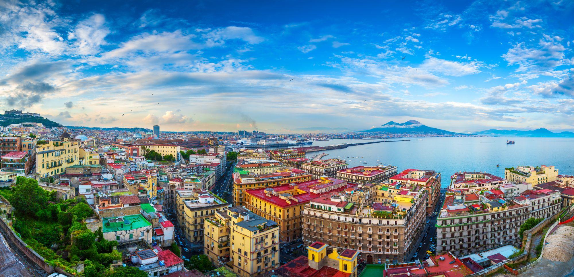 Neapol panorama miasta