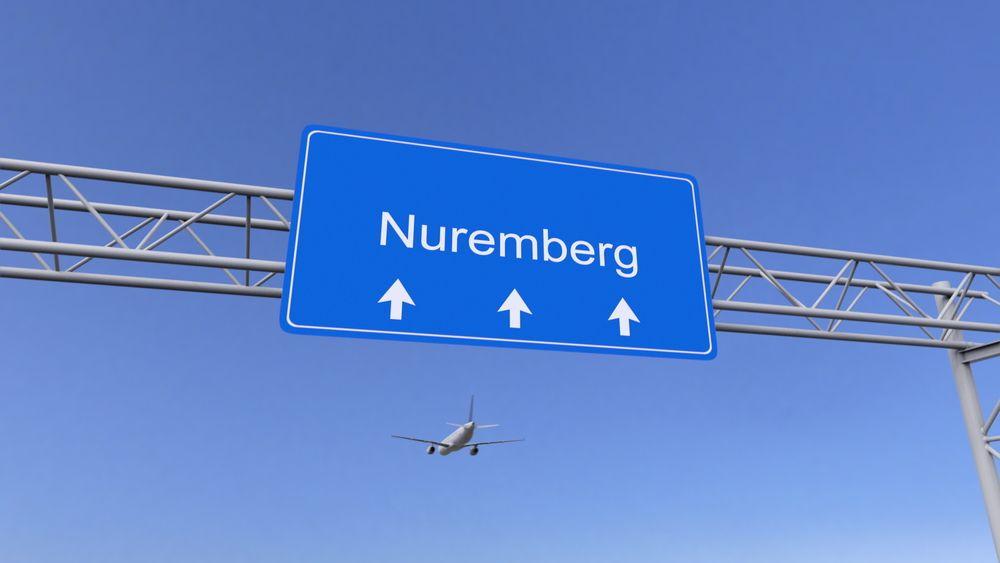 Norymberga samolotem