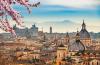 rzym widok na miasto