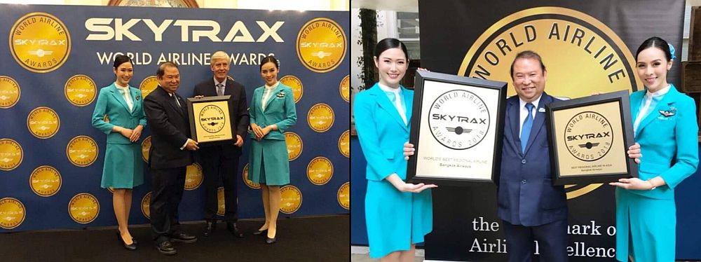Bangkok Airway i nagrody Skytrax
