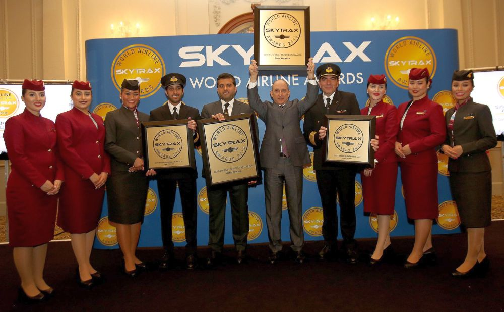 Skytrax i nagroda Qatar Airways