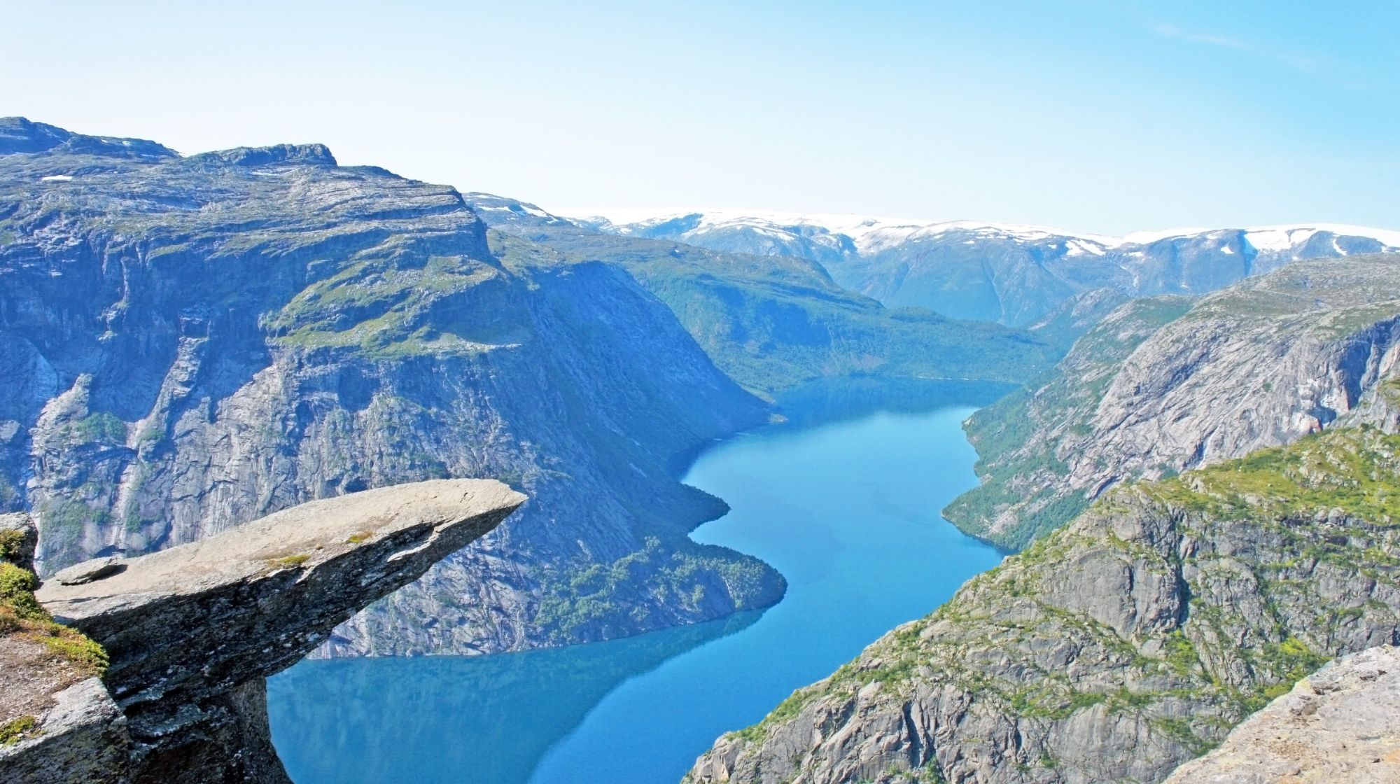 Norwegia panorama fiordów