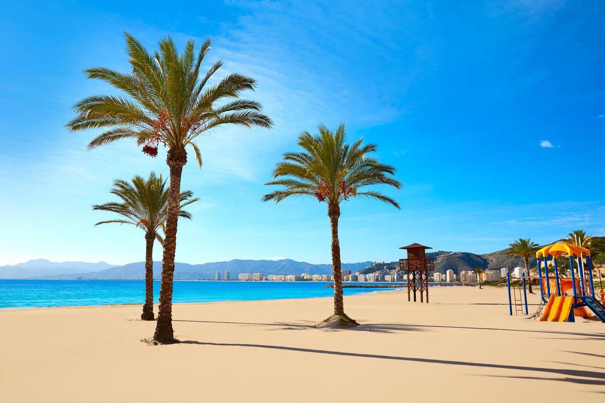 plaża w Walencji