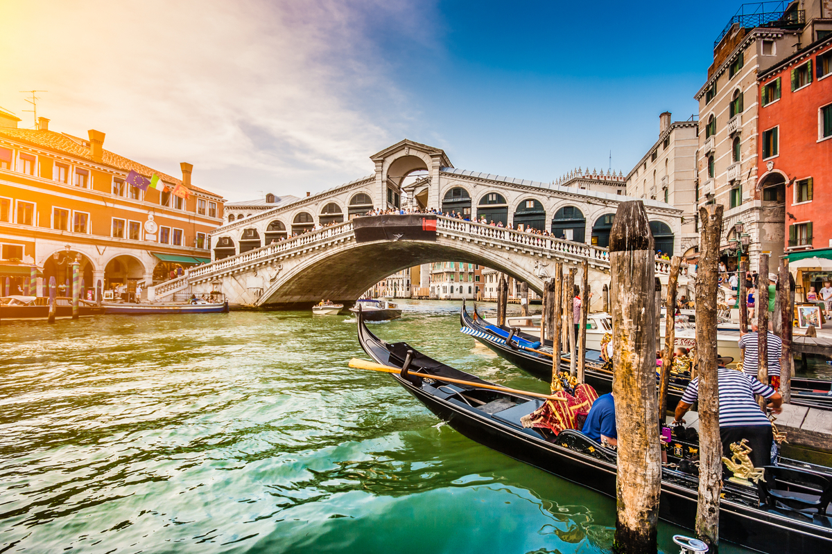 Wenecja Most Rialto