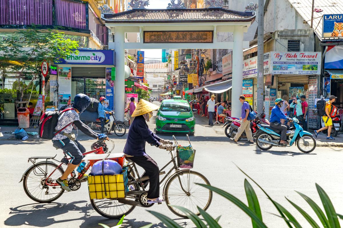 Wietnam rowery
