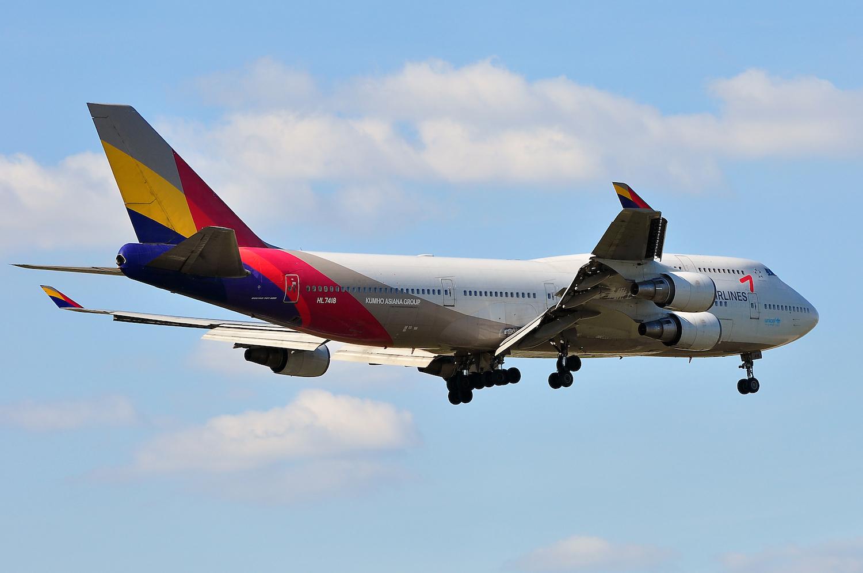 samolot linii Asiana