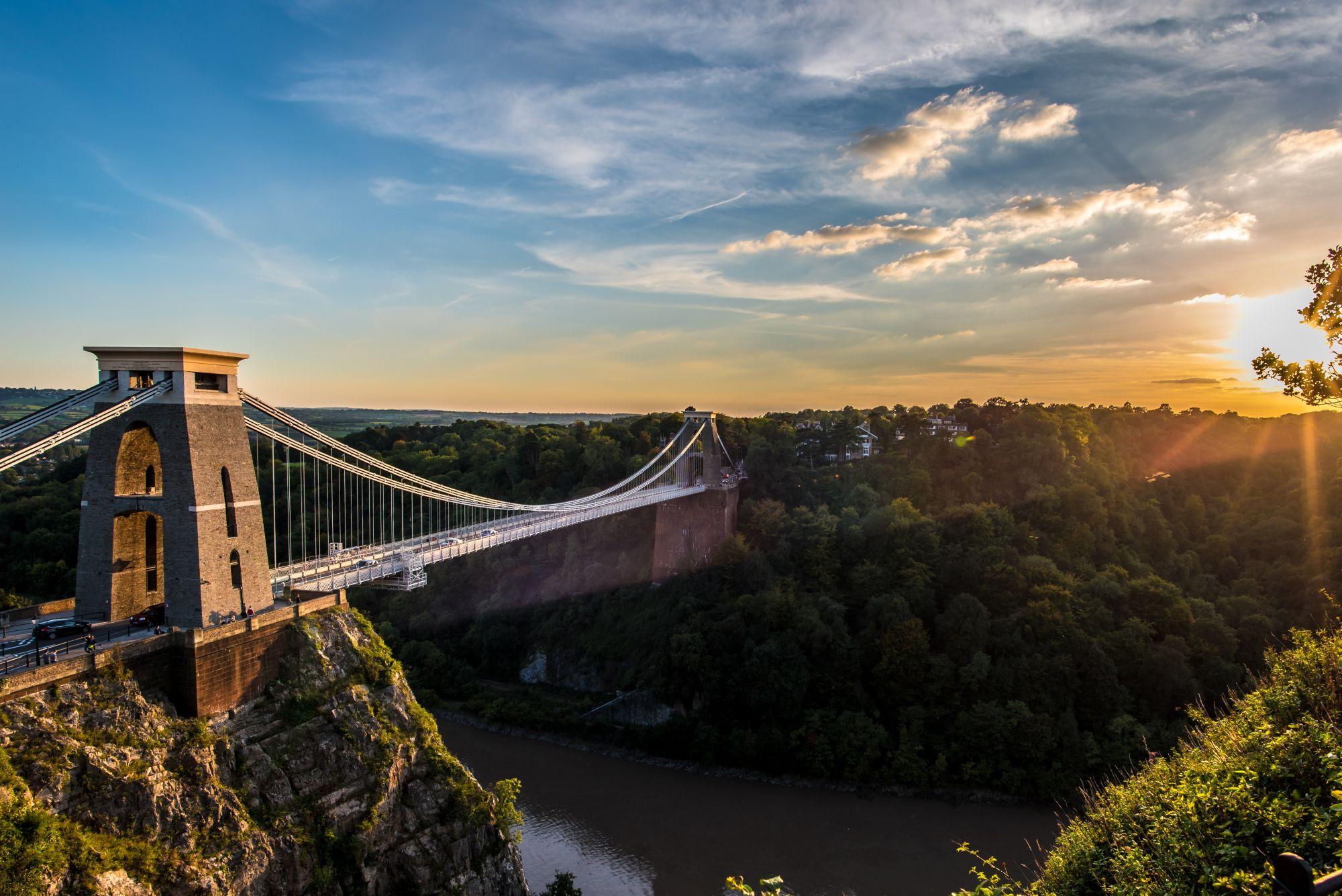 bristol widok mostu