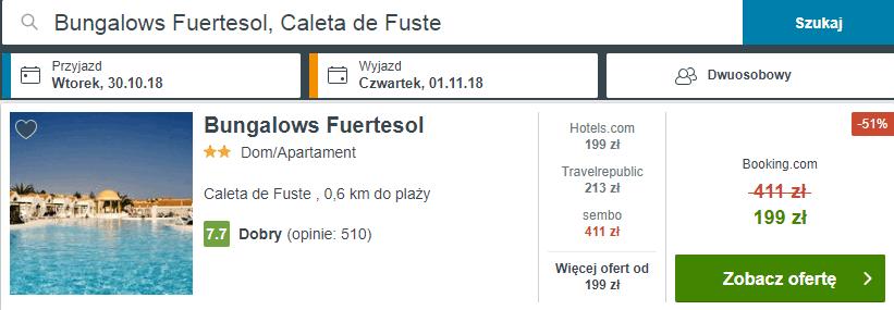 Bungalows Fuertesol