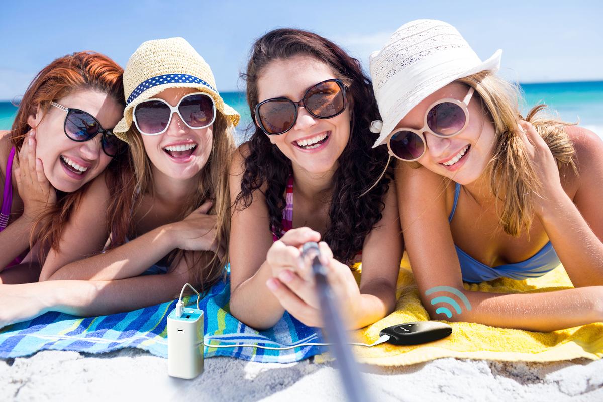 zdjęcie grupowe plaża