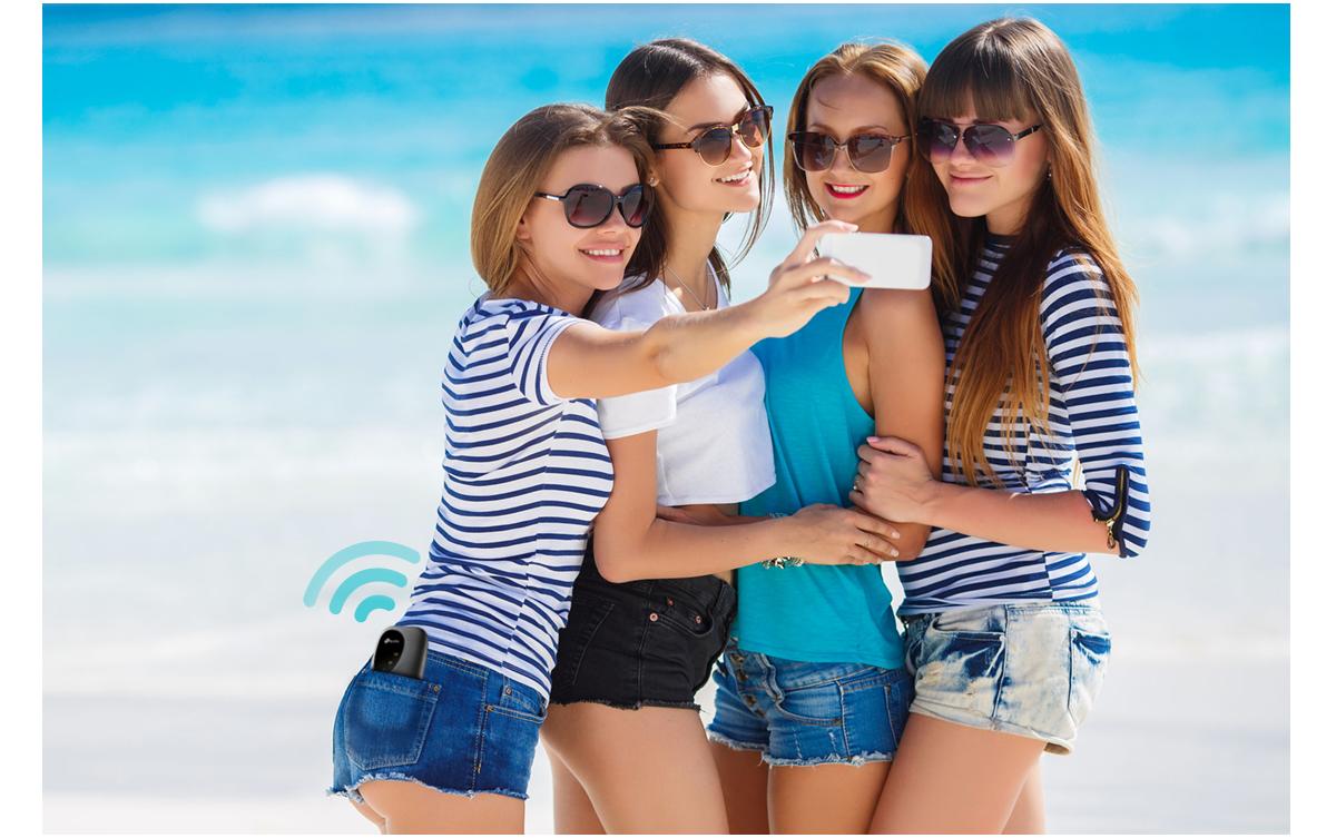 zdjęcie grupowe na plaży