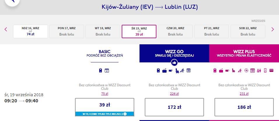 Rezerwacja przelotów do Lublina