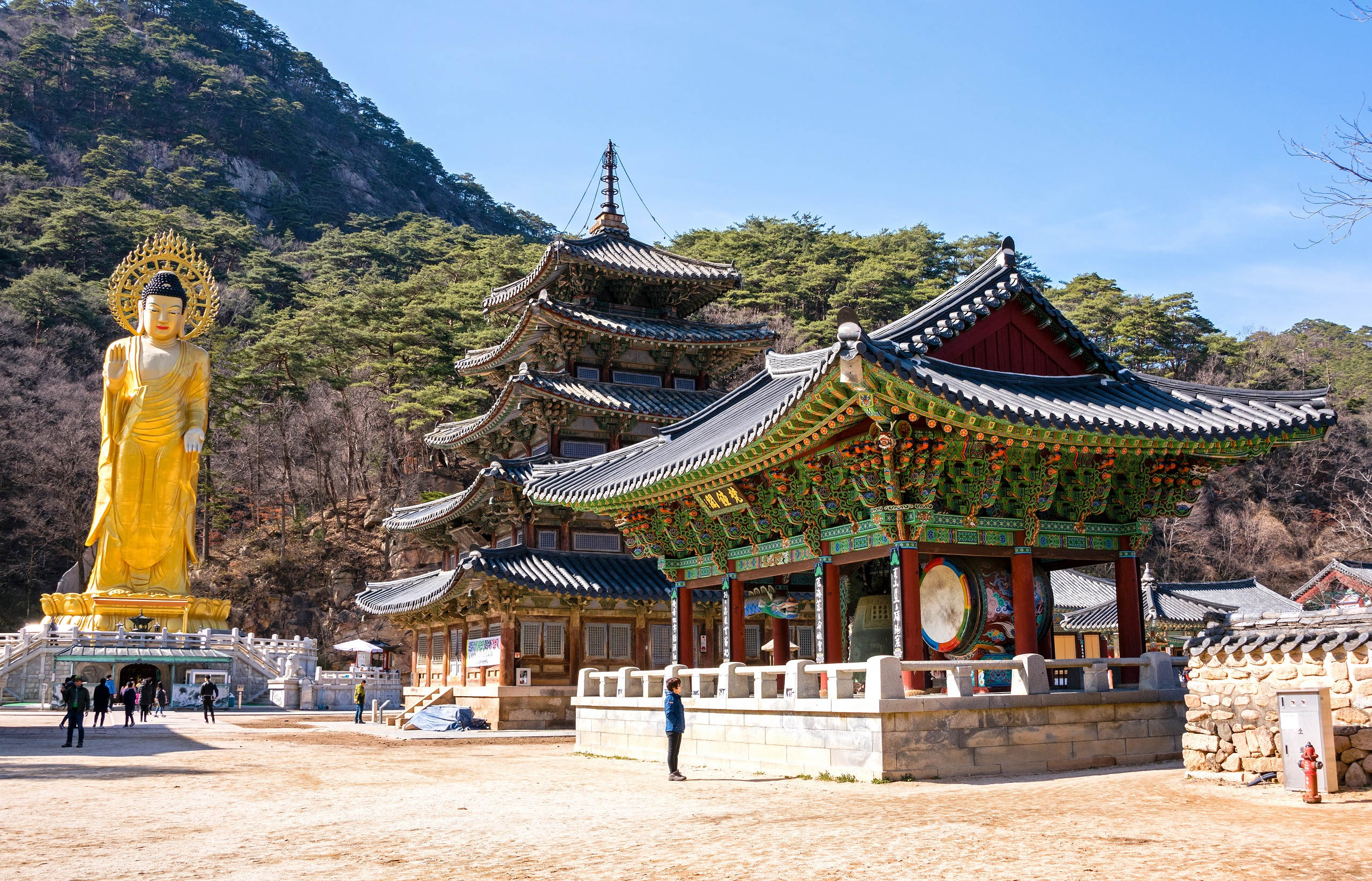 beopjusa świątynia