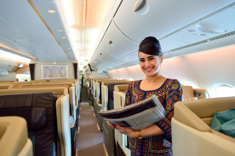 stewardesa Singapore Airlines