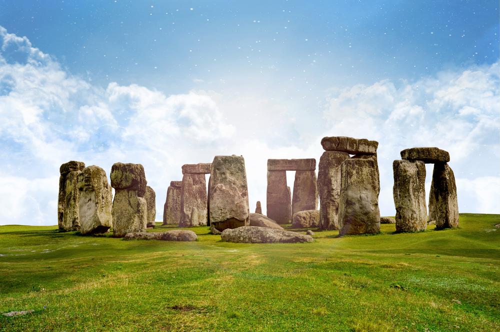 Stonehenge widok