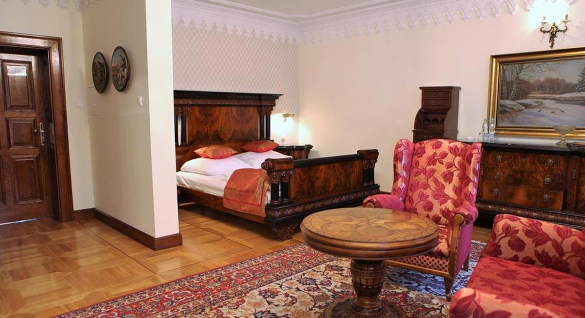 pokój w pałacu