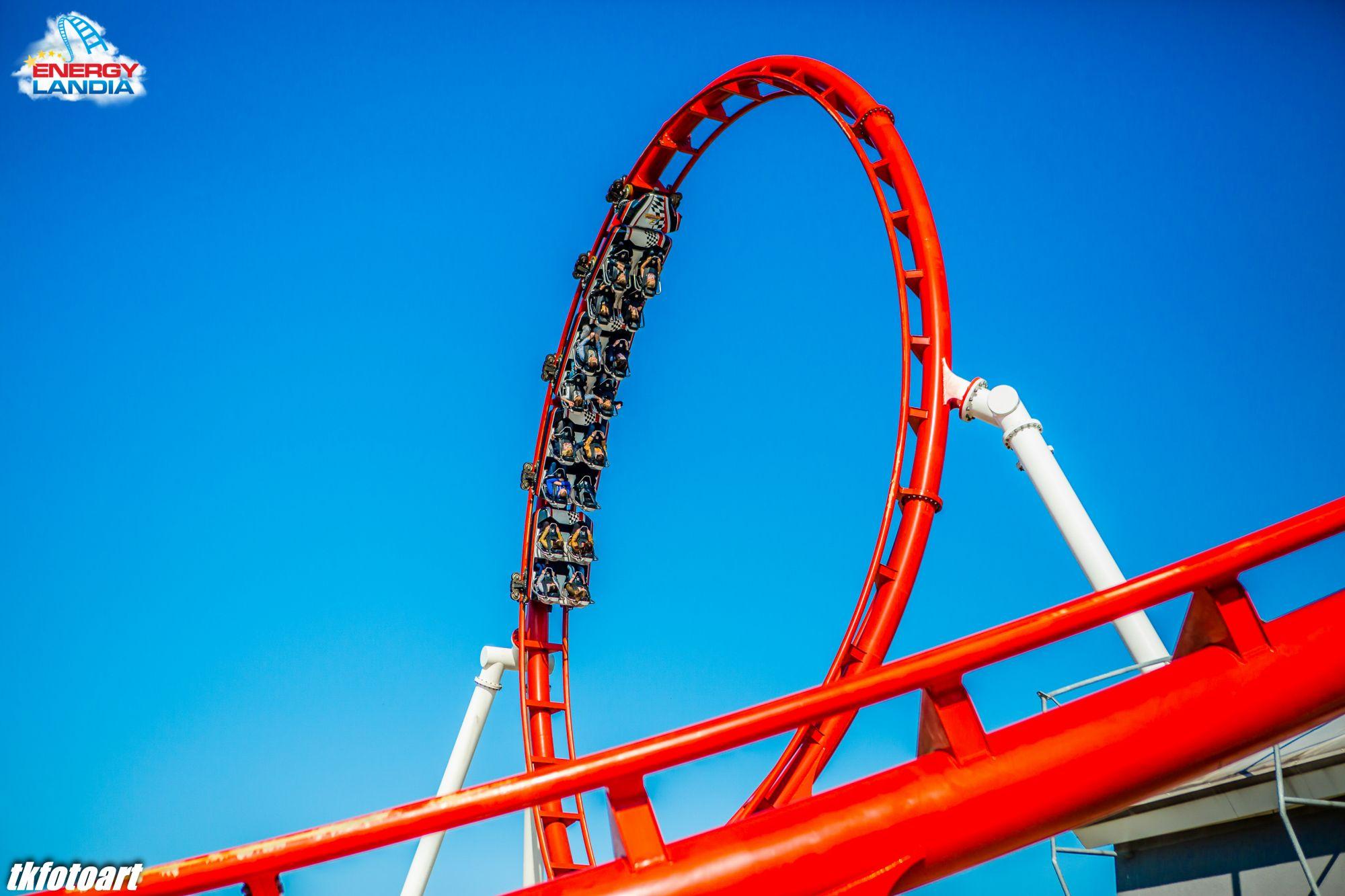 Energylandia rollercoaster