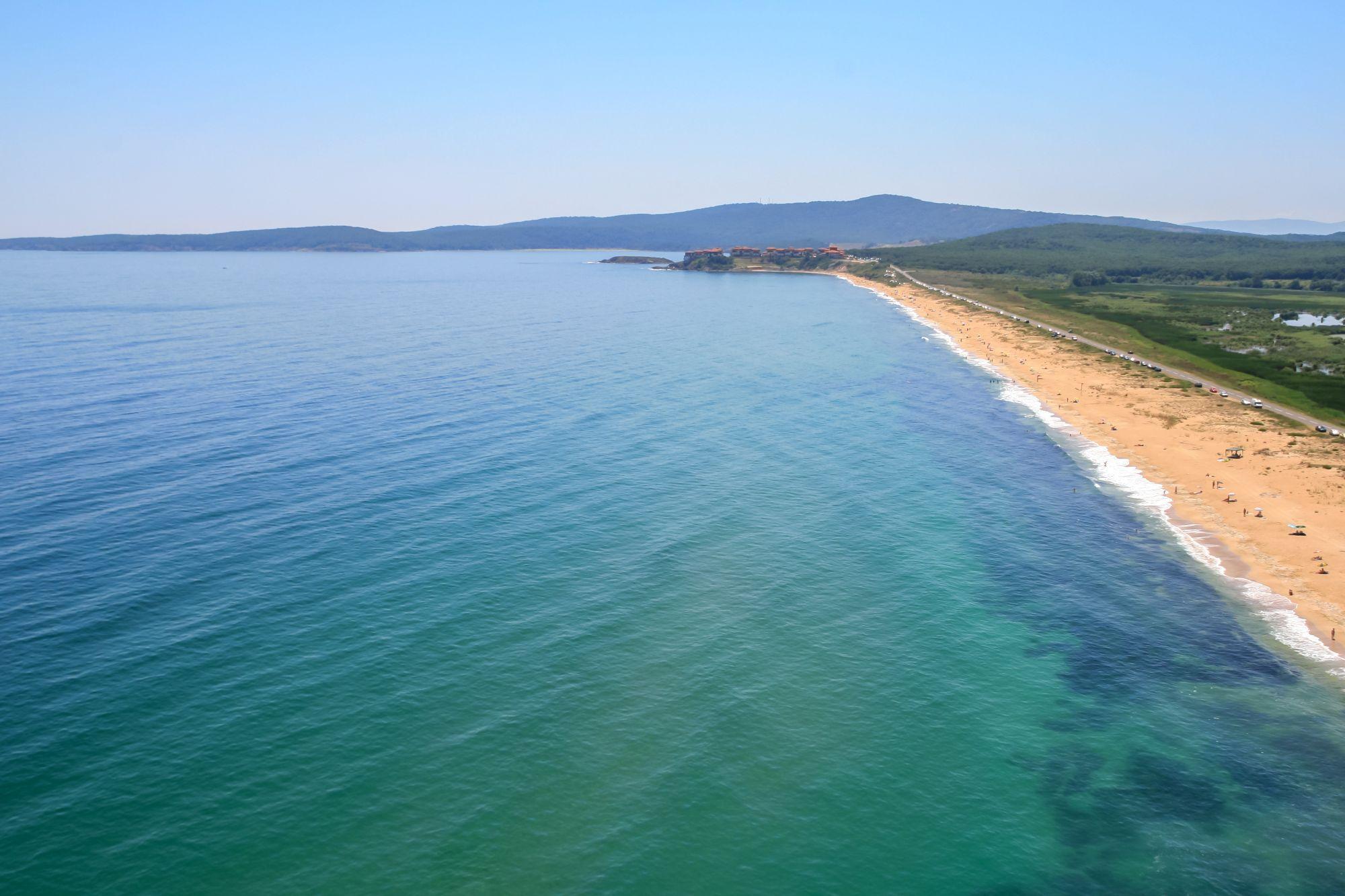 Burgas widok wybrzeża
