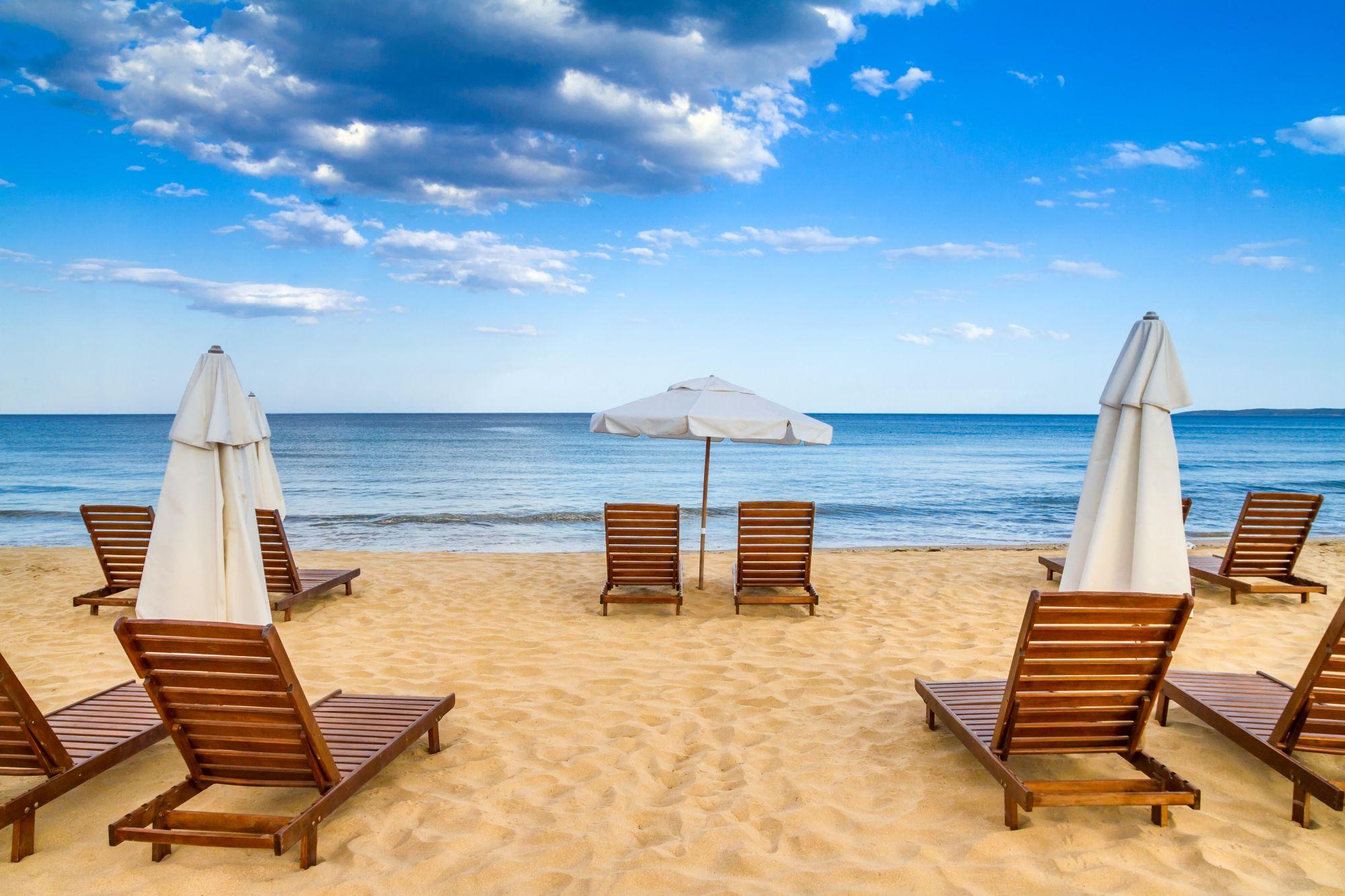 Burgas widok plaży