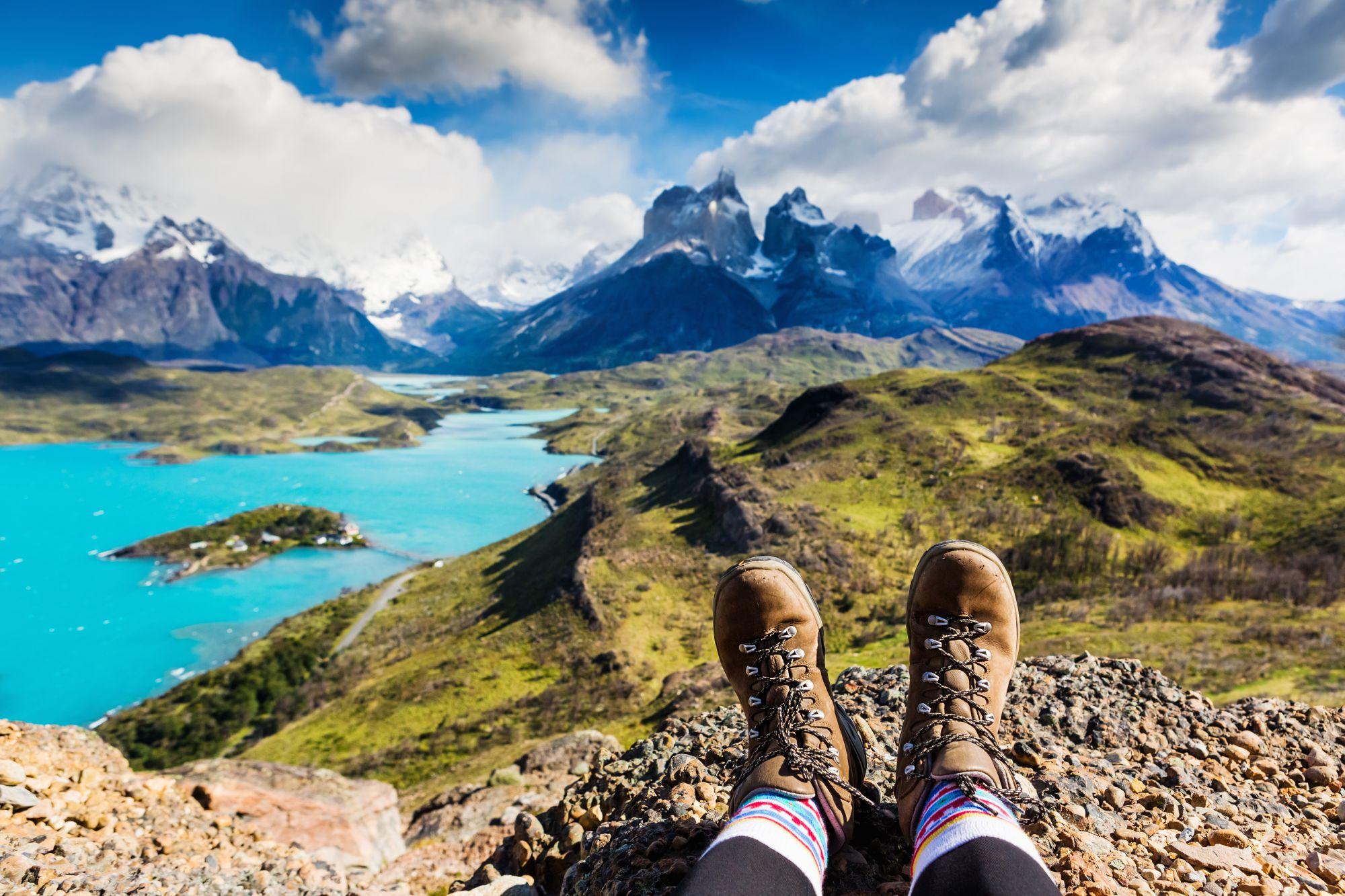 Chile widok gór