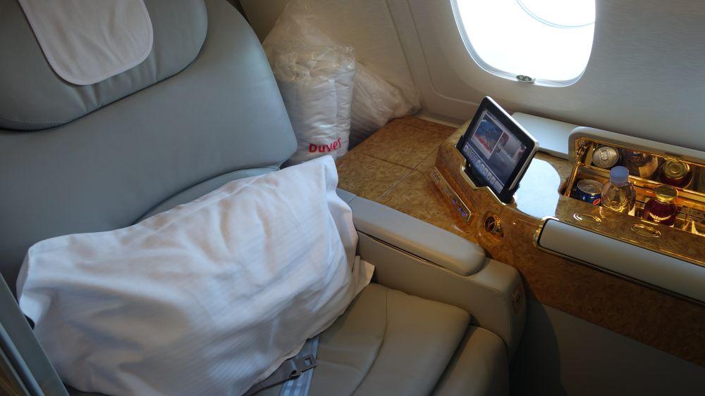 Pierwsza klasa w Emirates