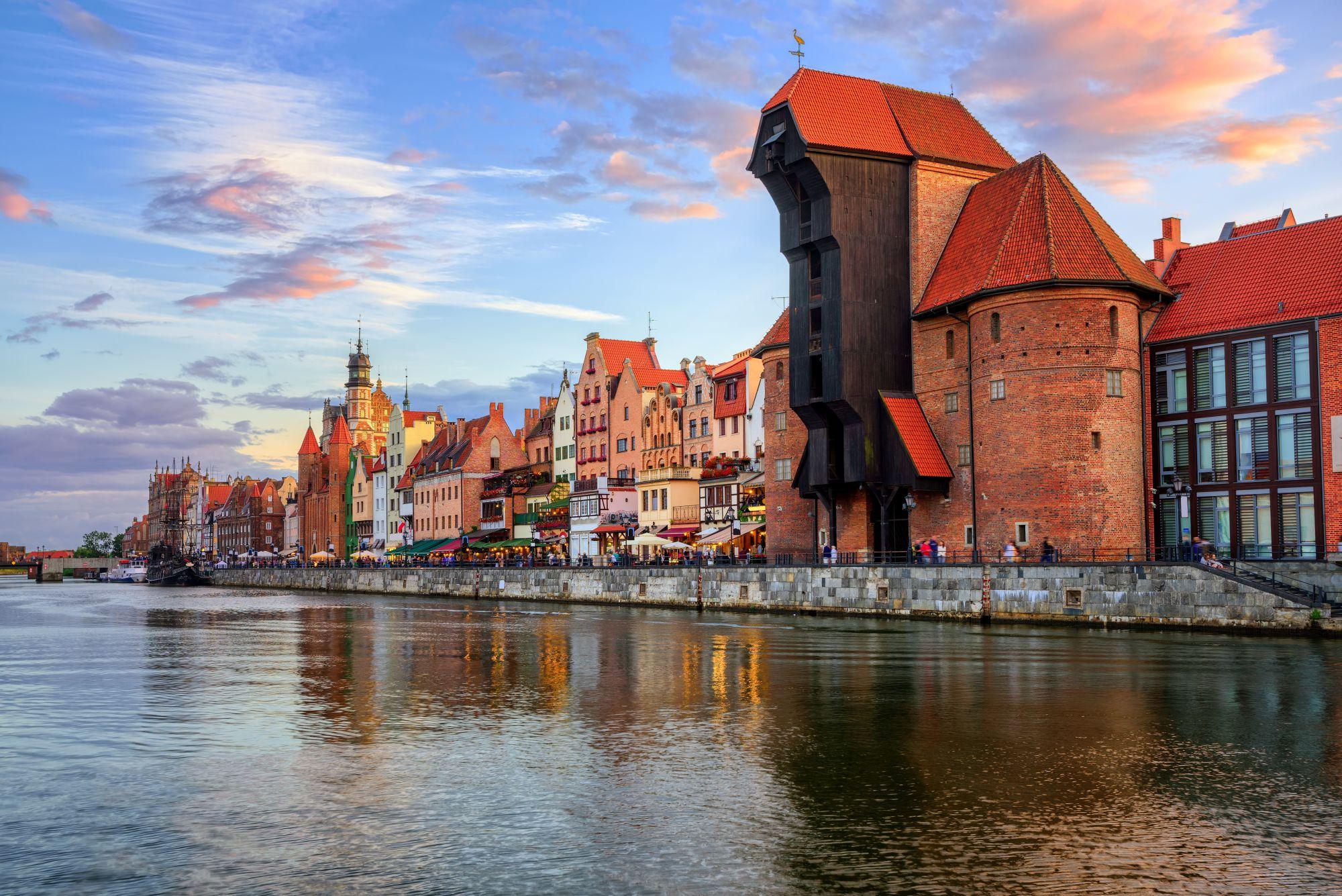 Gdańsk widok miasta