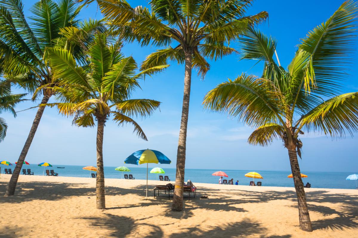plaża Goa