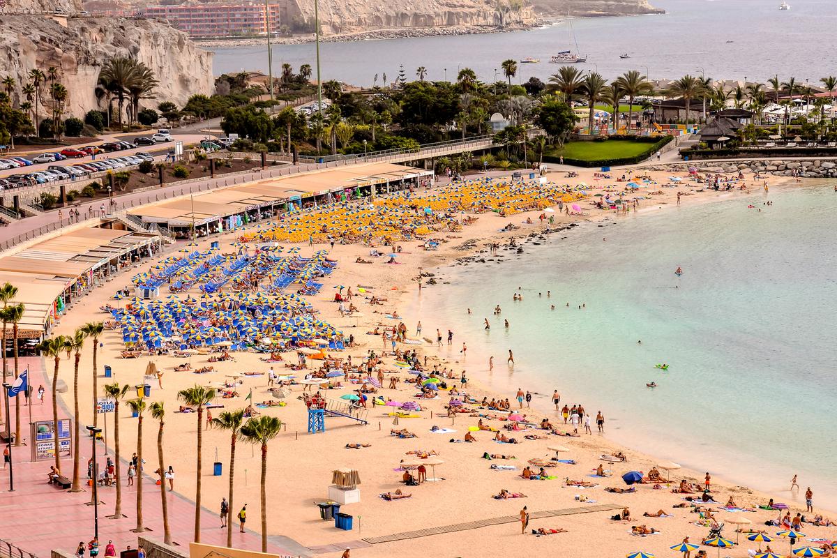 Gran Canaria Puerto Rico plaża