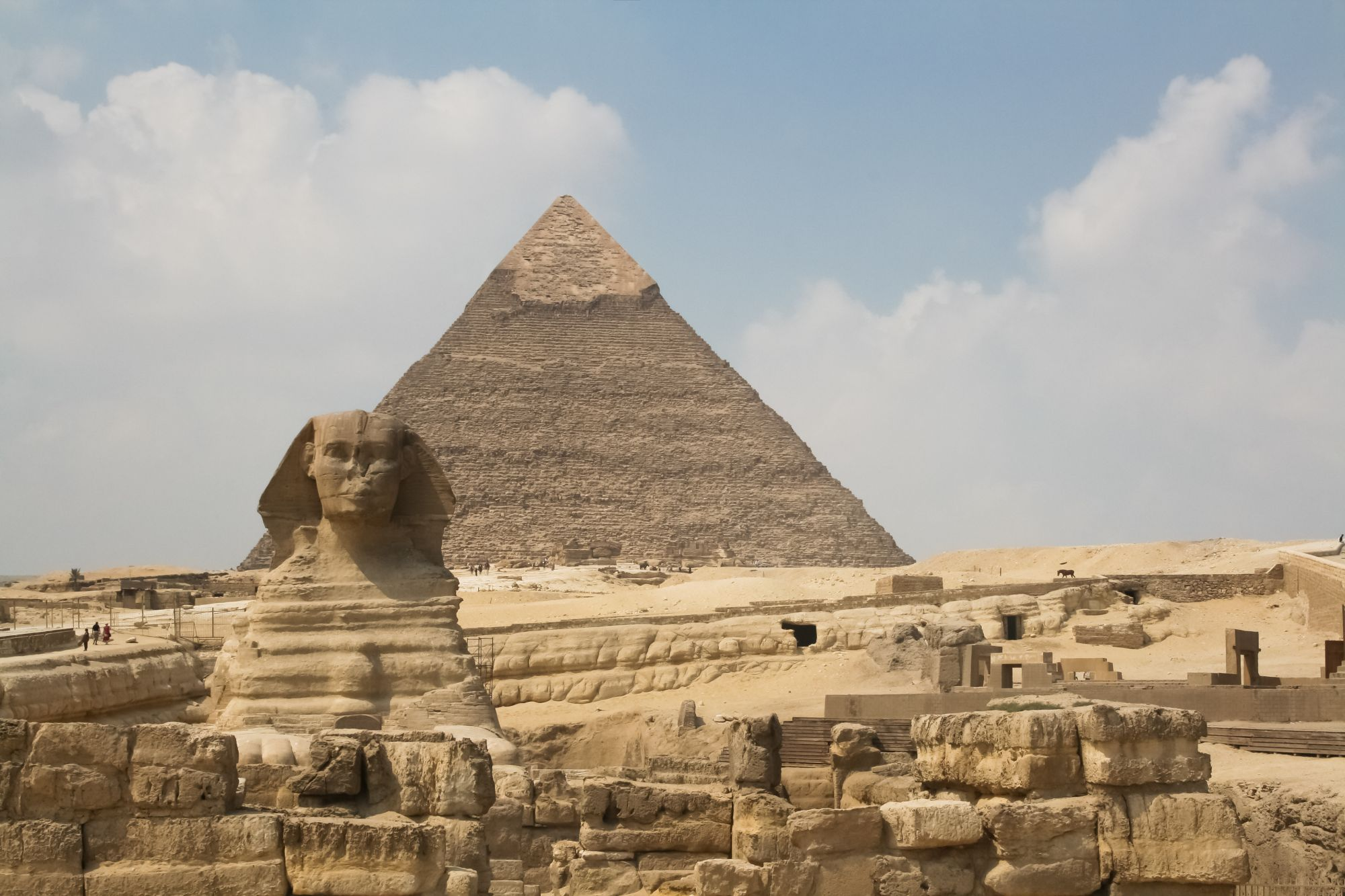 Kair widok Sfinksa