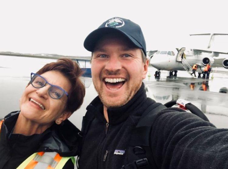 Pasażer w Kanadzie