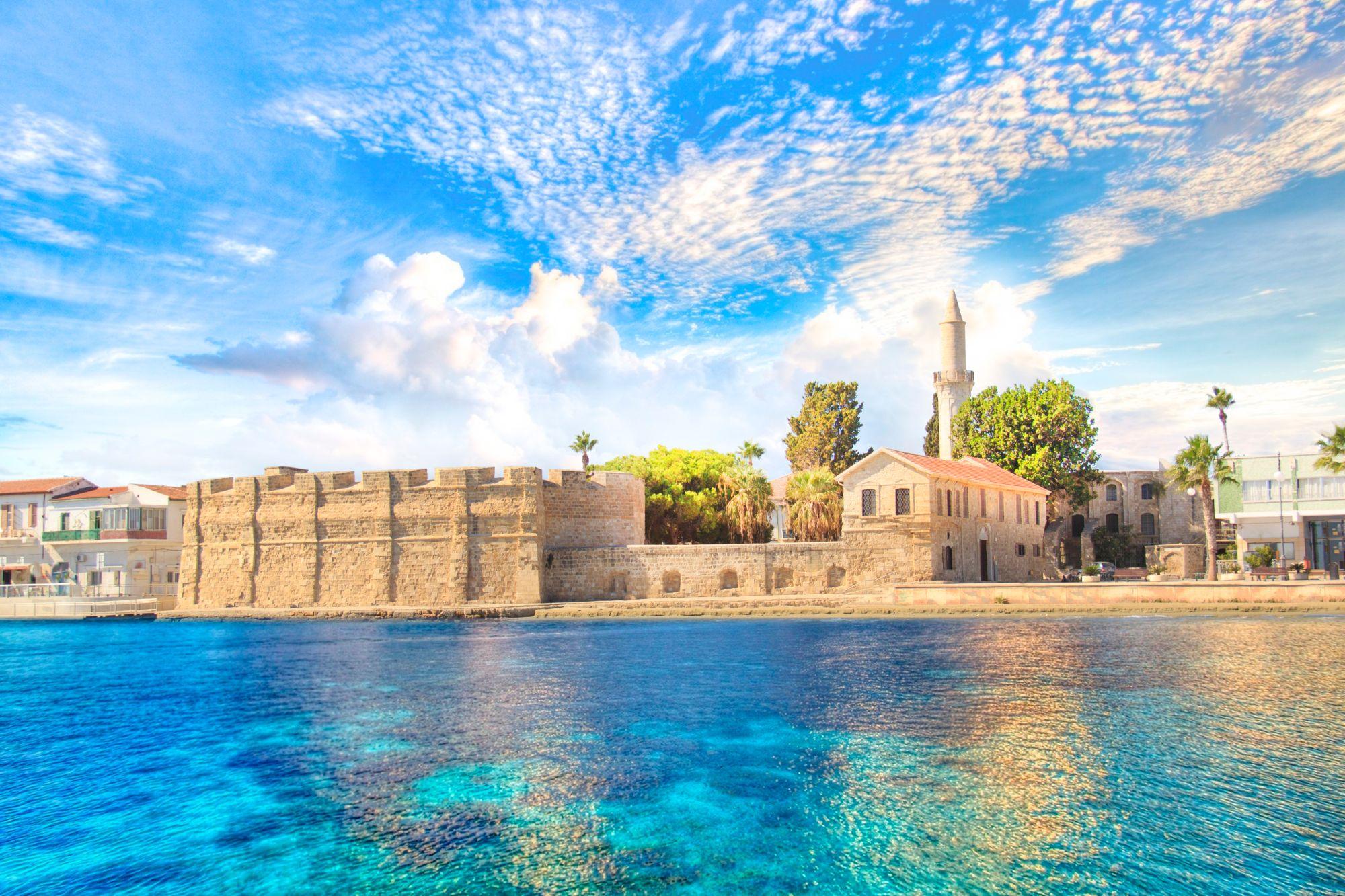 Larnaka widok miasta