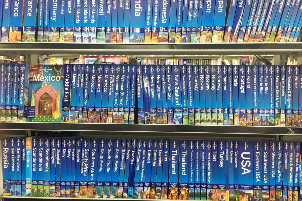 książki Lonely Planet