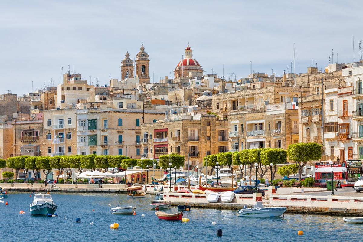 Malta Valletta widok