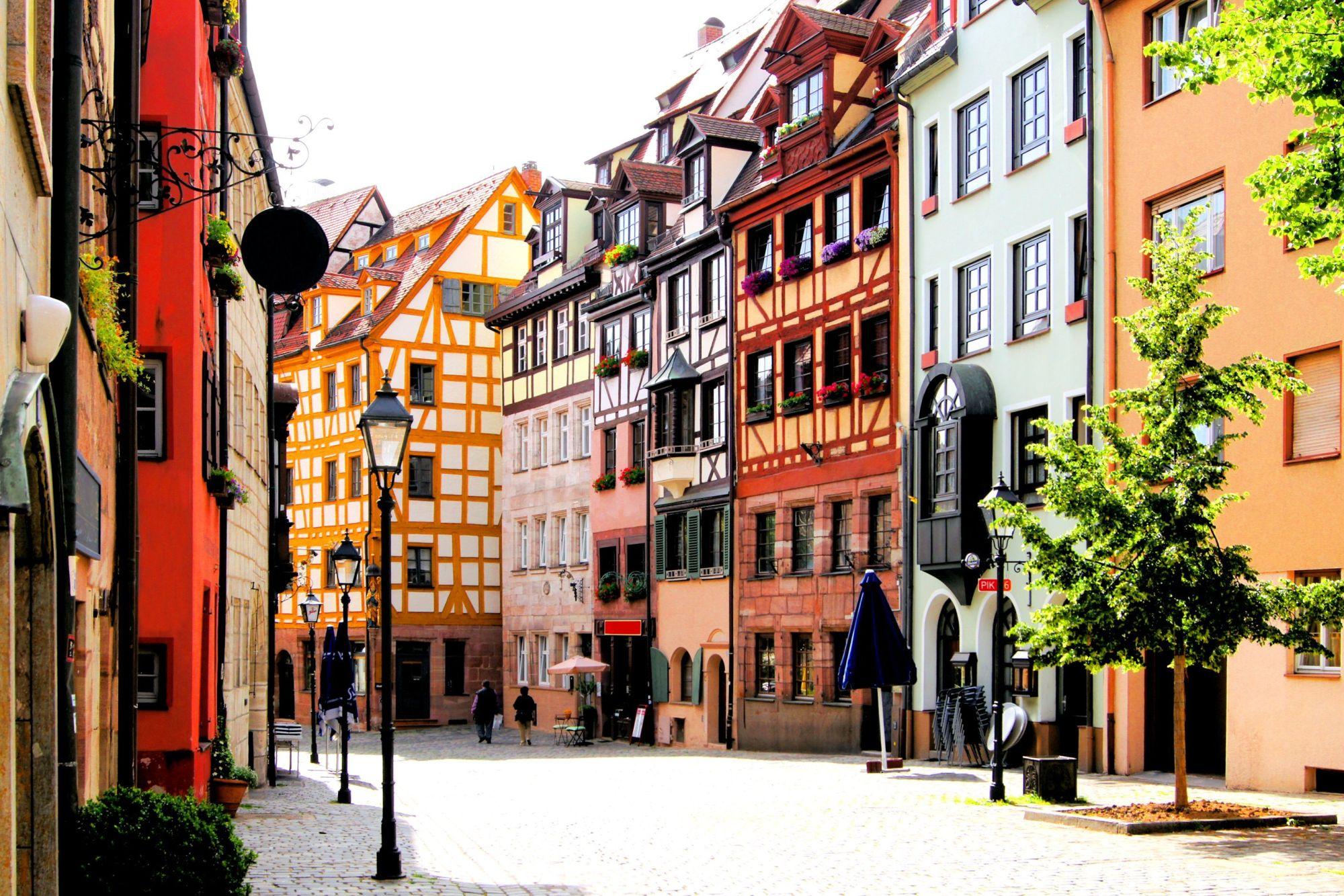 Norymberga widok ulicy