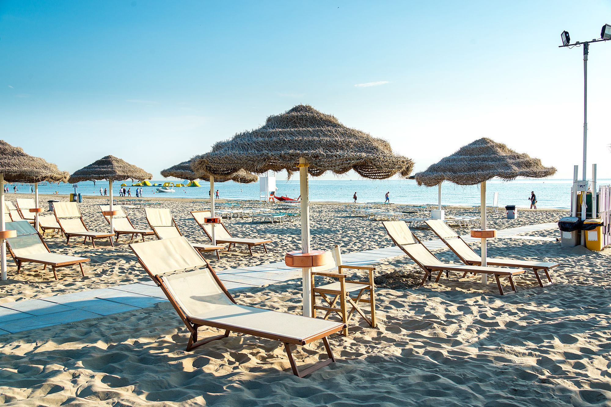 Rimini widok plaży