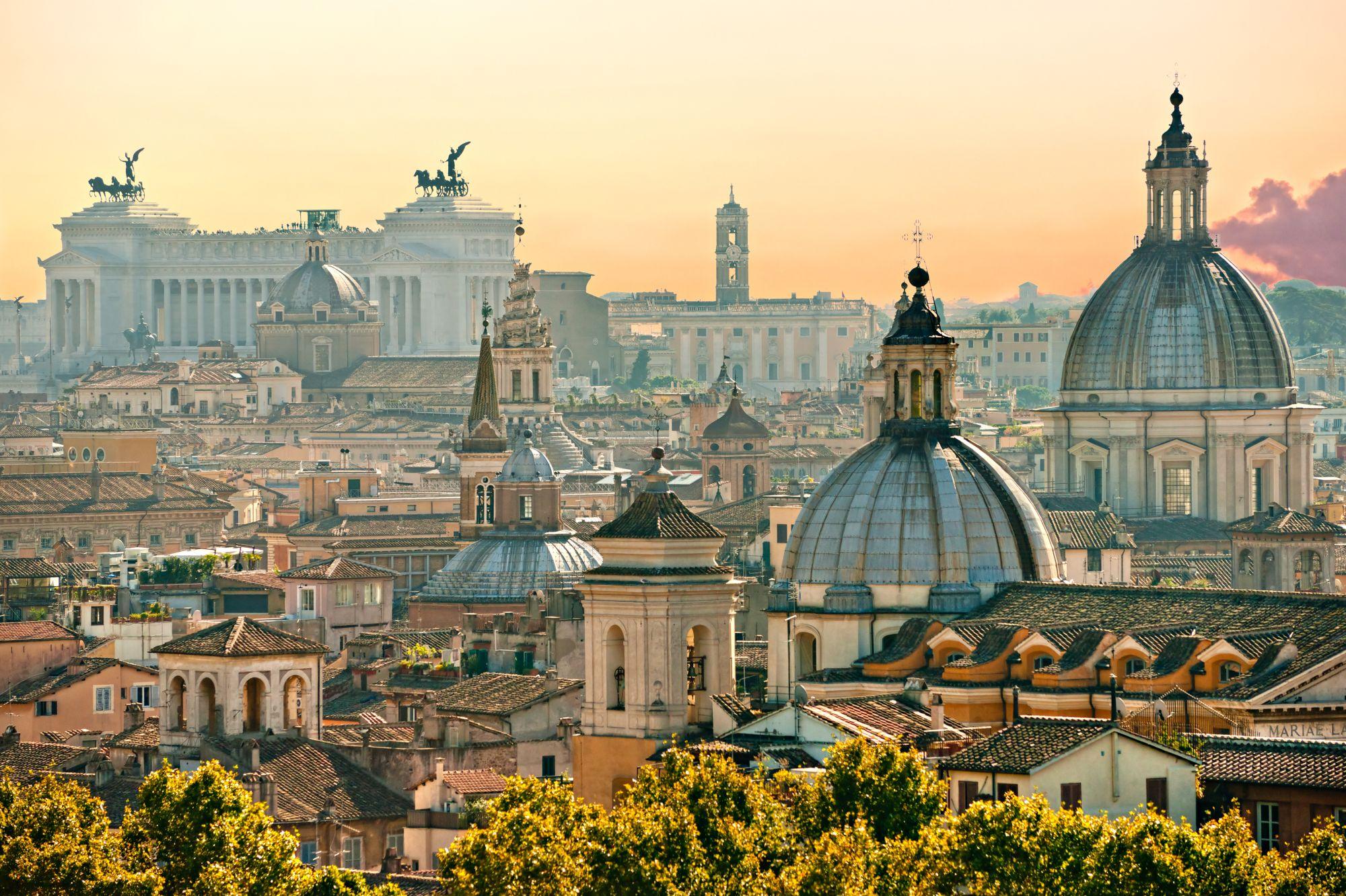 Rzym widok miasta