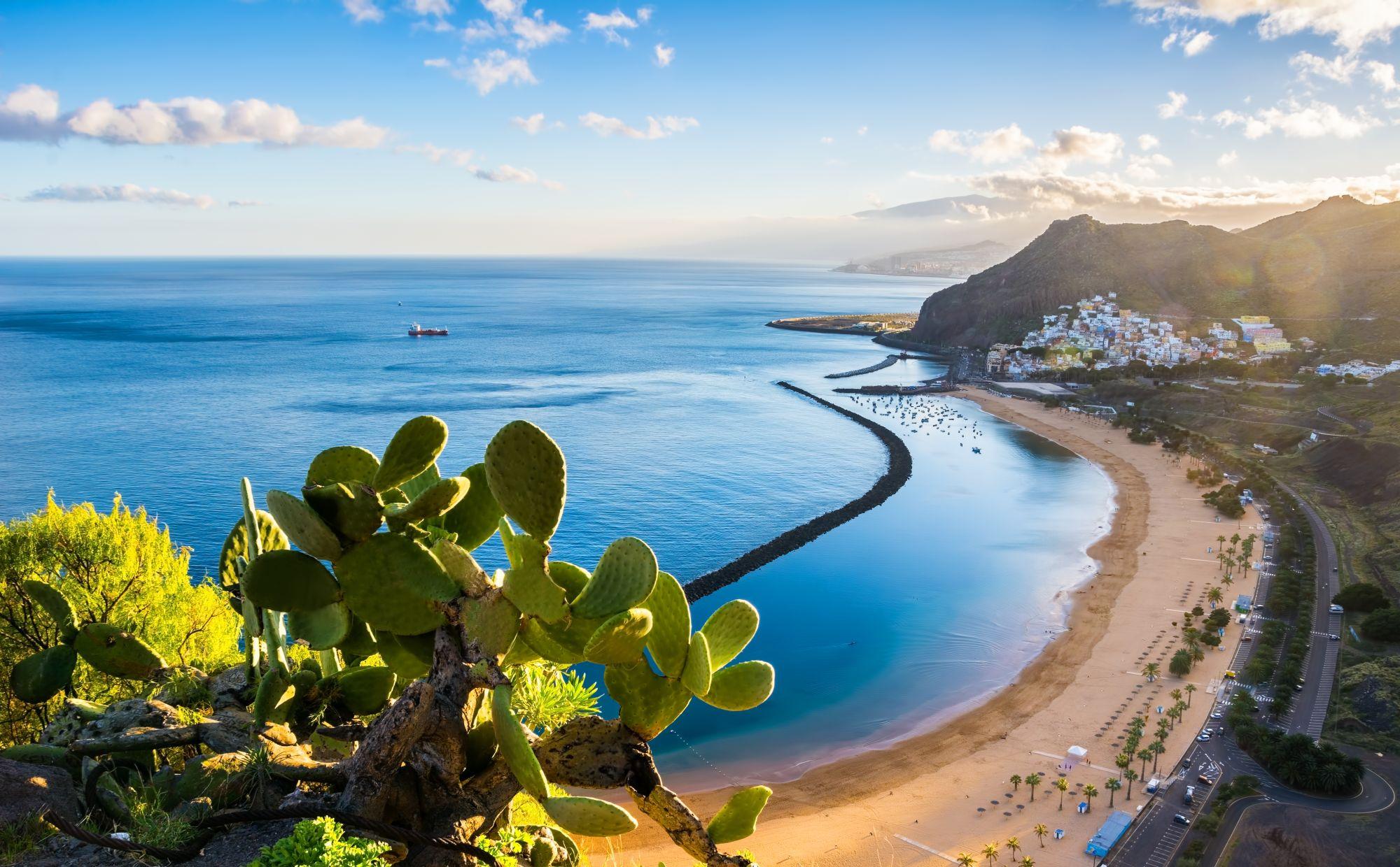 Teneryfa widok plaży