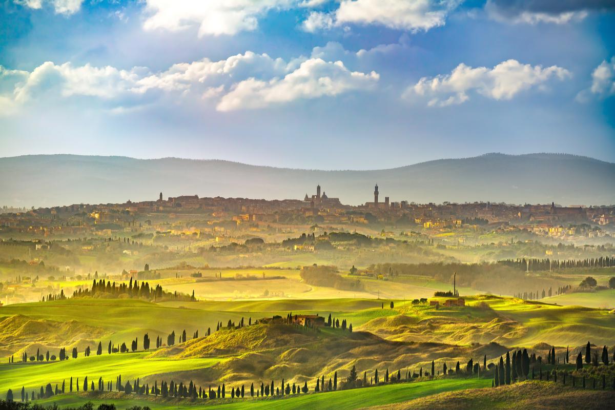 Toskania Siena