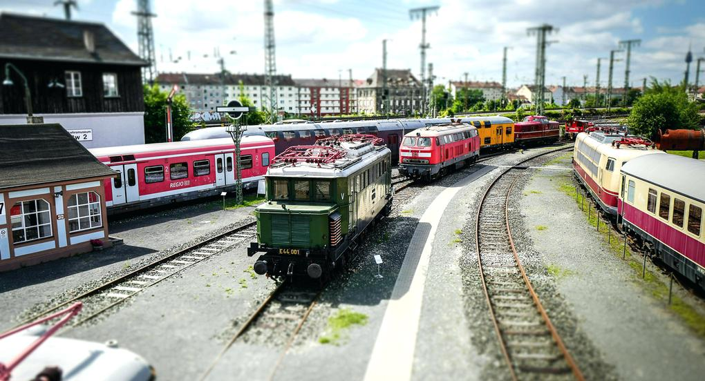 muzeum kolei norymberga