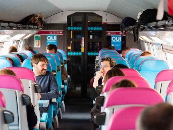 Pociąg TGV Ouigo