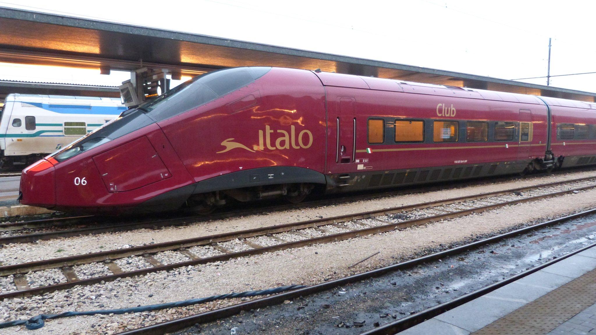 pociąg Italo