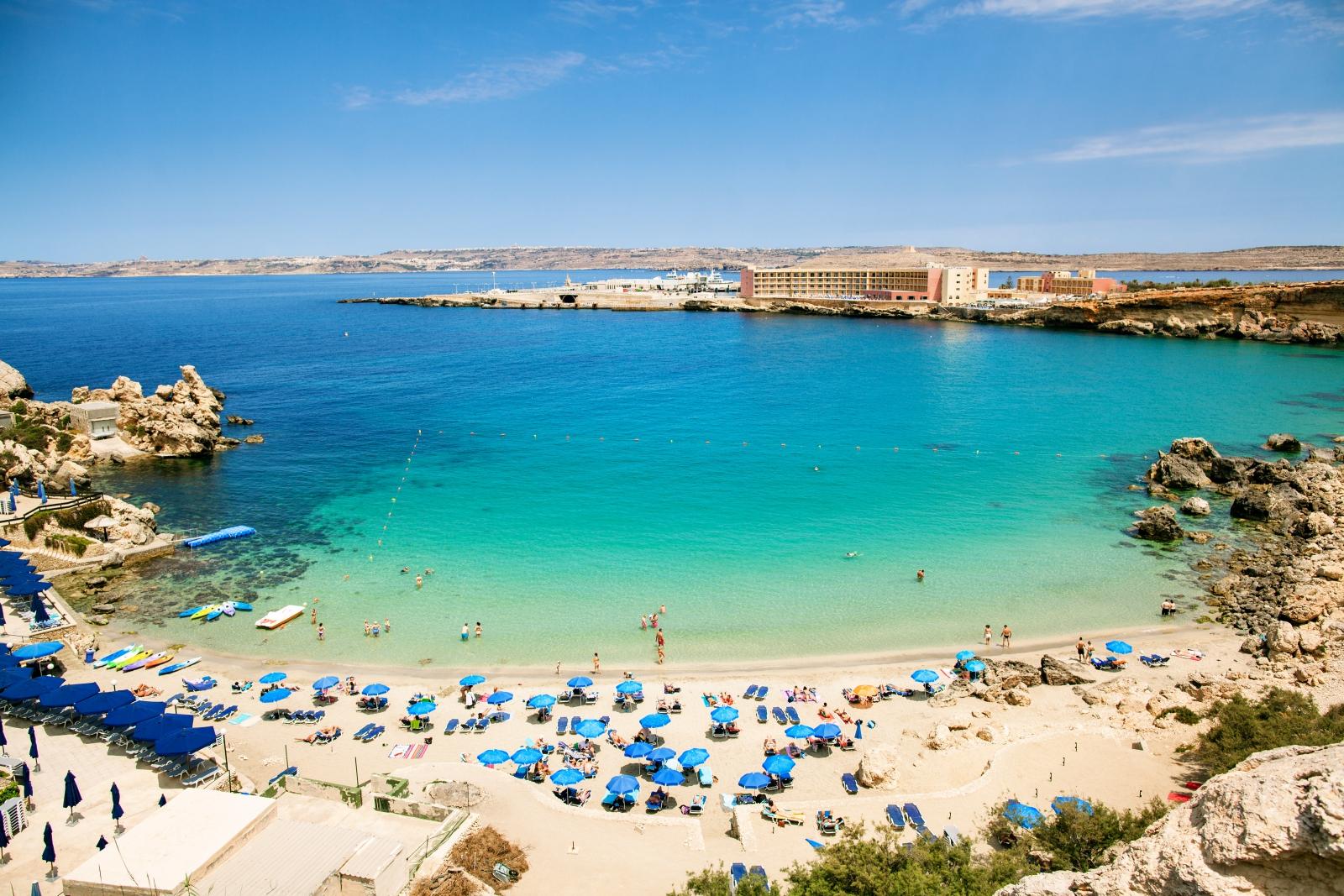 Malta plaża