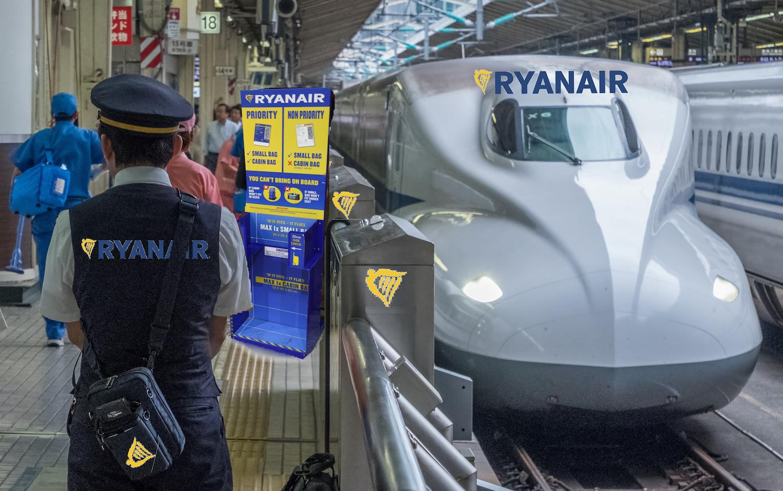 kolejowy Ryanair